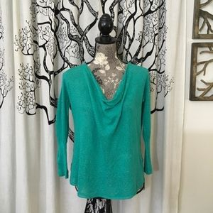 Anthropologie Guinevere Lightweight Cowl Sweater